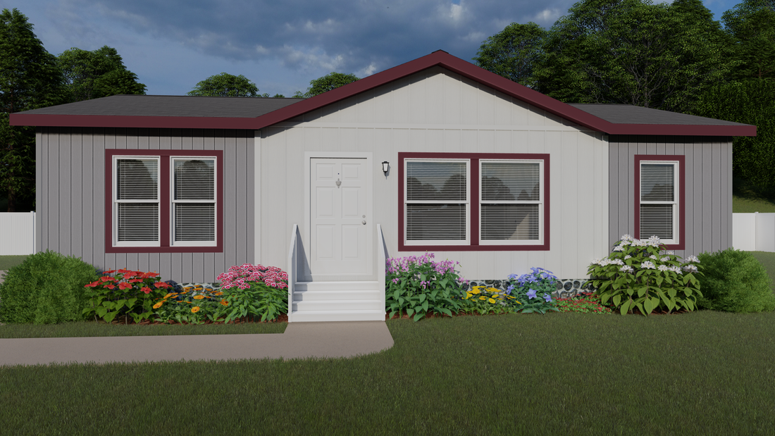 The 2013 COLUMBIA RIVER Exterior. This Manufactured Mobile Home features 3 bedrooms and 2 baths.