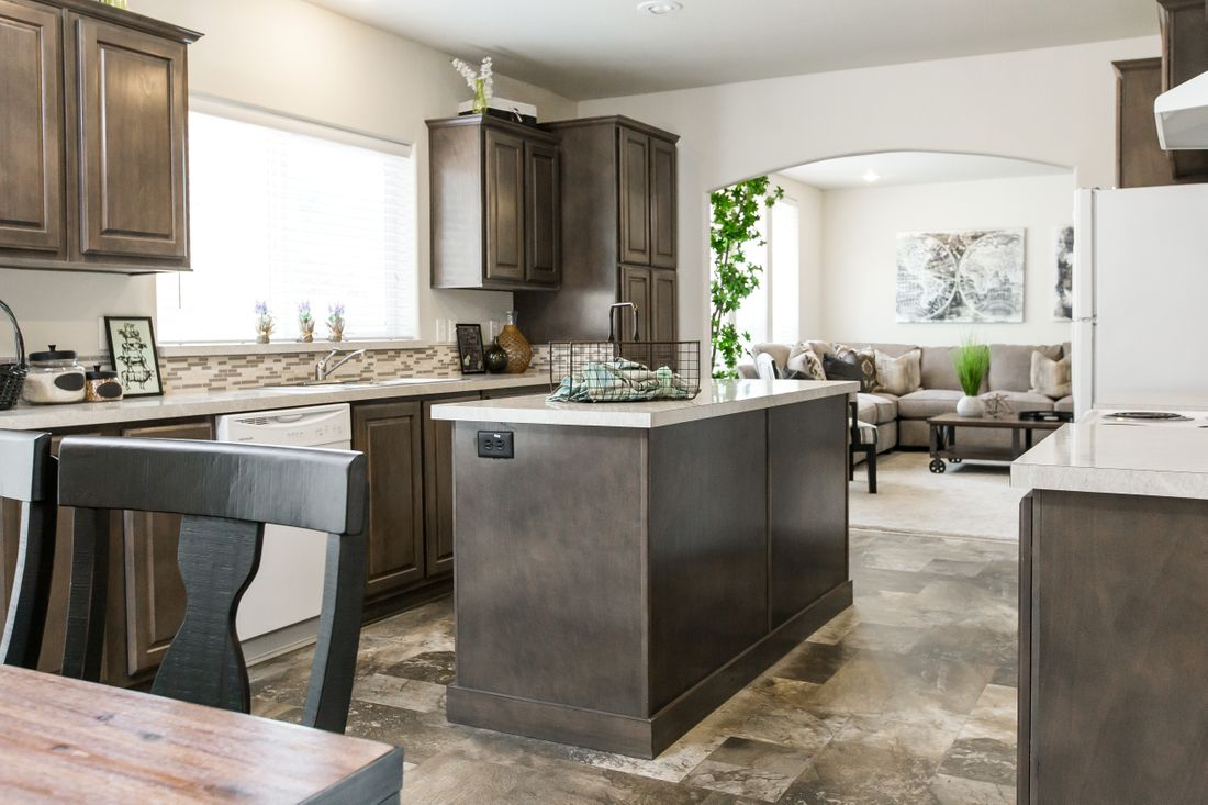 The 2868 MARLETTE SPECIAL Kitchen. This Manufactured Mobile Home features 3 bedrooms and 2.5 baths.