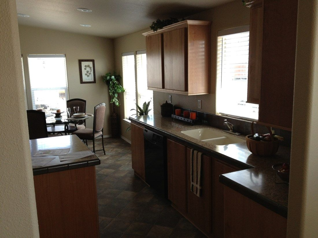 The 2848 MARLETTE SPECIAL Kitchen. This Manufactured Mobile Home features 3 bedrooms and 2 baths.