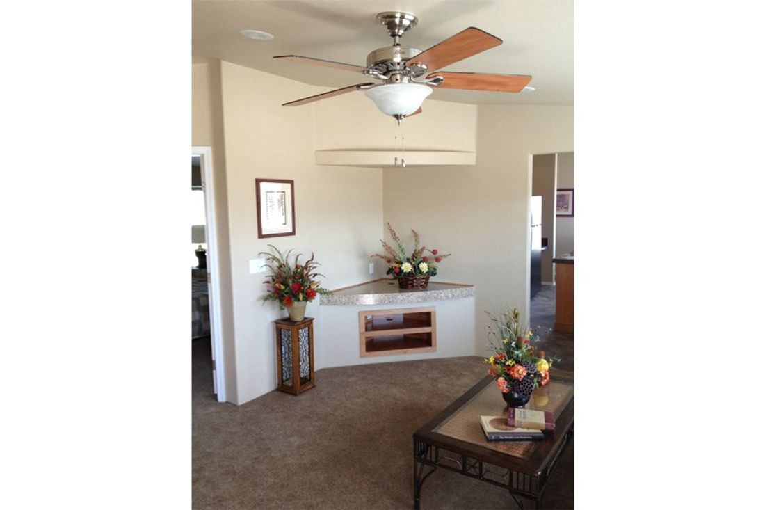 The 2848 MARLETTE SPECIAL Living Room. This Manufactured Mobile Home features 3 bedrooms and 2 baths.