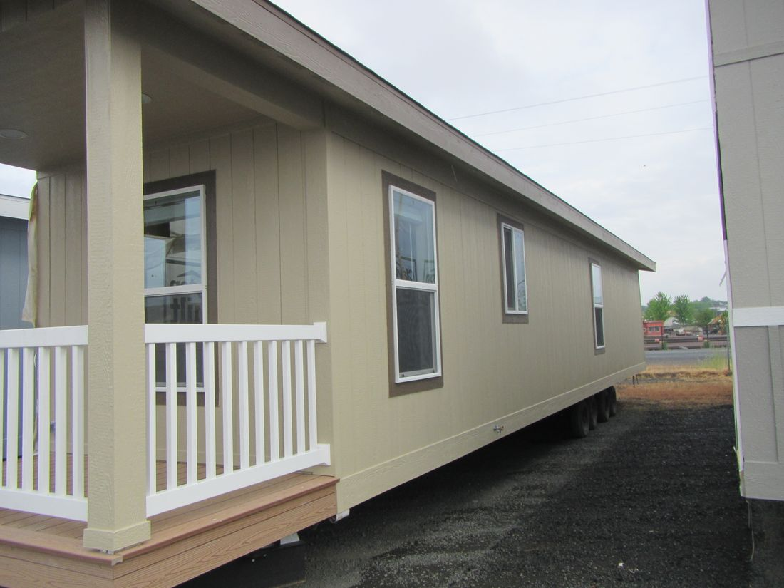 The 9521 (20') COLUMBIA RIVER Exterior. This Manufactured Mobile Home features 2 bedrooms and 2 baths.